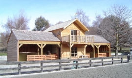 Horse Stables - Lake Hayes